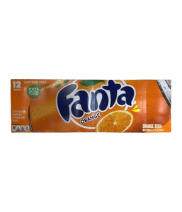 Fanta Orange 12 Cans - 12 - 12 FL oz - Daily Fresh Grocery