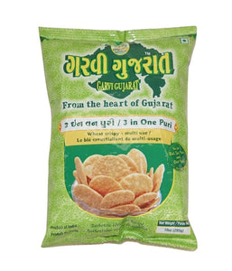 Garvi Gujarat 3 in One Puri - 285 Gm - Daily Fresh Grocery