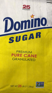 Domino Suger Premium Pure Cane - 25 Lbs - Daily Fresh Grocery