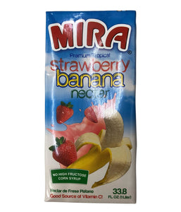 Mira Strawberry Banana Nectar - 1 Ltr