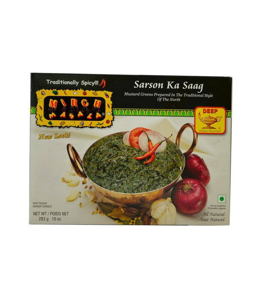 Mirch Masala Sarson Ka Saag - Daily Fresh Grocery