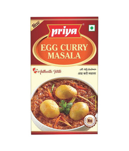 Priya Egg Curry Masala 50 gm - Daily Fresh Grocery