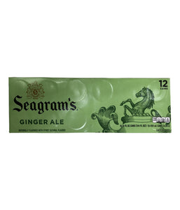 Seagrams Ginger Ale 12 Cans - 12 FL oz - Daily Fresh Grocery