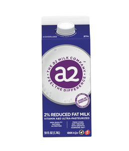 a2 2% Reduced Fat Milk - 1.74 Ltr - Daily Fresh Grocery