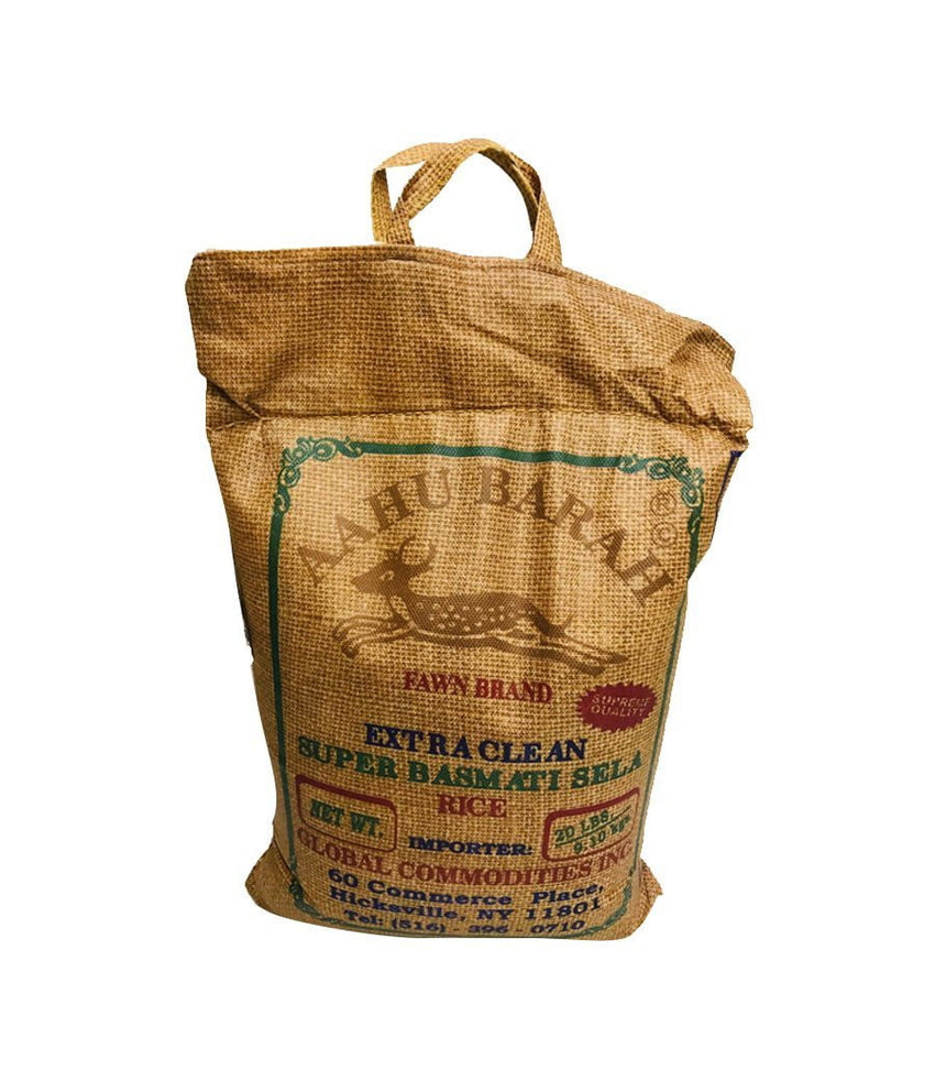 AAHU BARAH – Extra Clean Super Basmati Sela Rice – 20Lbs - Daily Fresh Grocery