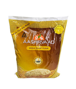 AASHIRVAAD - Whole Wheat Flour - 20Lbs - Daily Fresh Grocery