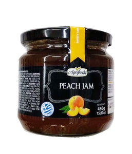 Agrifreda Peach Jam - 450 Gm - Daily Fresh Grocery