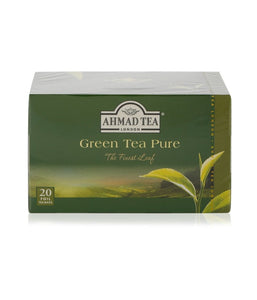 Ahmad Tea London Green Tea Pure - 20 FOIL - Daily Fresh Grocery