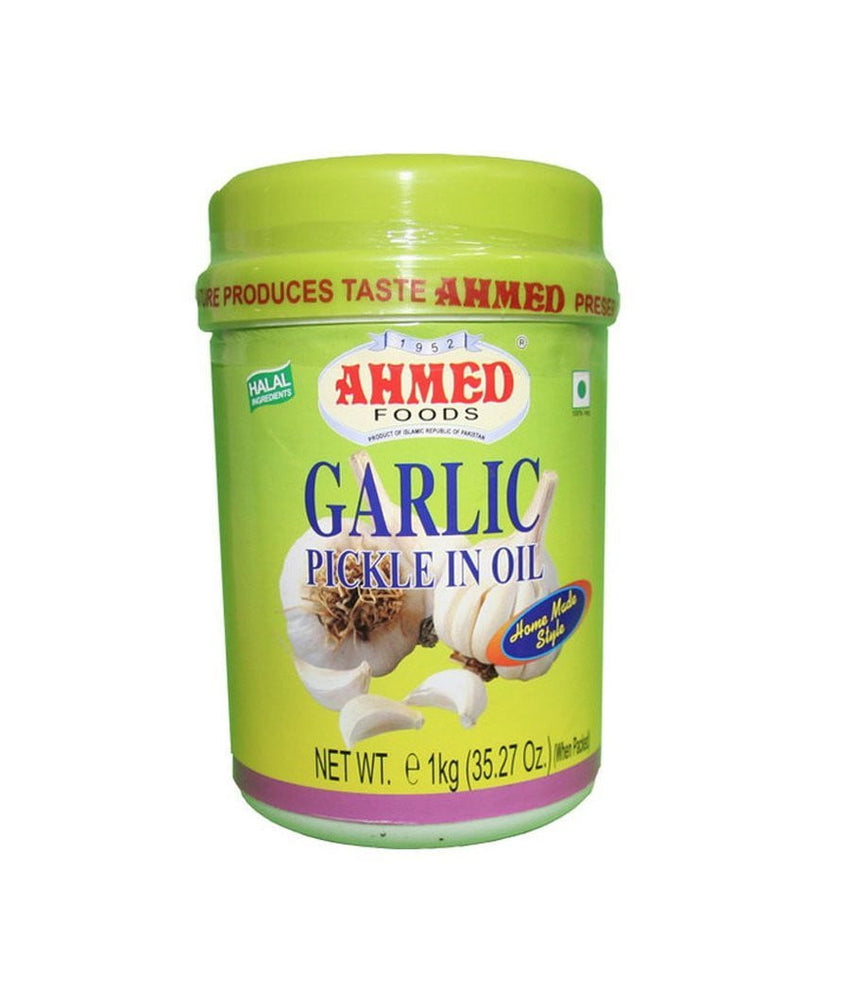 Ahmed Foods Garlic Pickle in Oil - 1 Kg - Daily Fresh Grocery