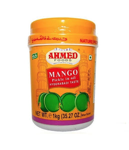 Ahmed Foods Mango Pickle in Oil - 1 Kg - Daily Fresh Grocery