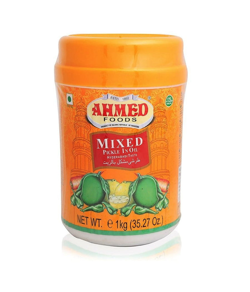 Ahmed Foods Mixed Pickle in Oil - 1 Kg - Daily Fresh Grocery