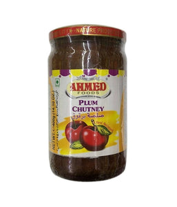 Ahmed Foods Plum Chutney - 400 Gm - Daily Fresh Grocery