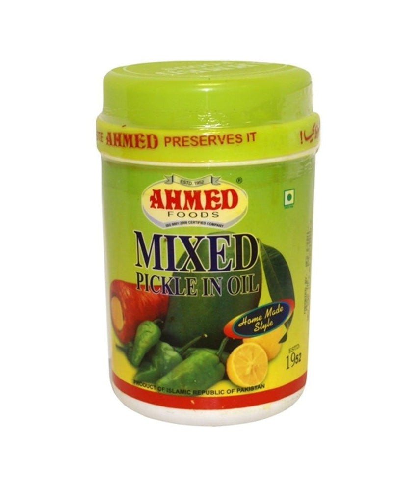 Ahmed Mixed Pickle In Oil 1 kg (35.27 OZ) - Daily Fresh Grocery