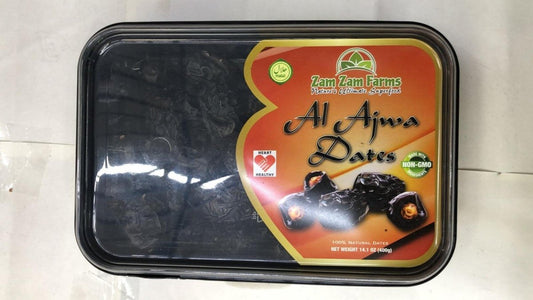 Al Ajwa Dates - 400gm - Daily Fresh Grocery