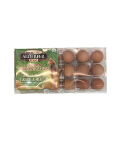 Alderfer Eggs (Organic) Grade A Large Brown 18 Eggs - Daily Fresh Grocery
