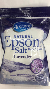 Amoray Care Epsom Salt Lavender - 454gm - Daily Fresh Grocery