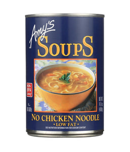 Amy's No Chicken Noodle Soup 14.1 oz - Daily Fresh Grocery