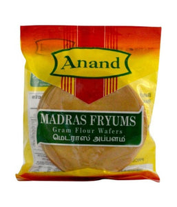 Anand Madras Fryums Gram Flour Wafer's - 200 Gm - Daily Fresh Grocery