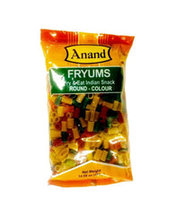 Anand Plain Fryums Round 400 gm - Daily Fresh Grocery