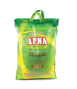 Apna Ponni Boiled Rice / 20 lbs - Daily Fresh Grocery