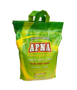APNA – Ponni  Boiled  Rice – 20Lbs - Daily Fresh Grocery