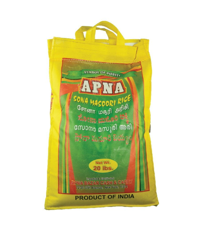 Apna Sona Masoori Rice / 20 lbs - Daily Fresh Grocery