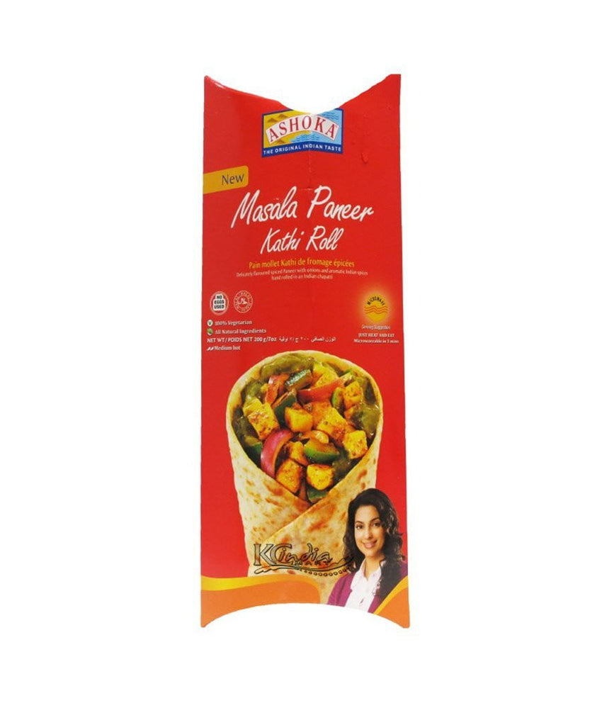 Ashoka Masala Paneer Kathi Roll Medium Hot - Daily Fresh Grocery