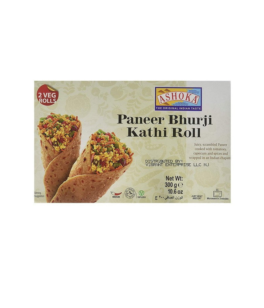 Ashoka Paneer Makhani Roll (2 Veg Rolls) Hot - Daily Fresh Grocery