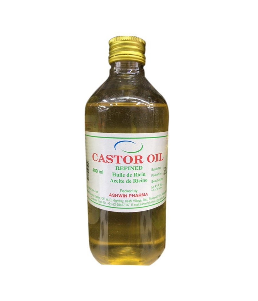 Ashwin Pharma Castor Oil Refined - 400ml - Daily Fresh Grocery