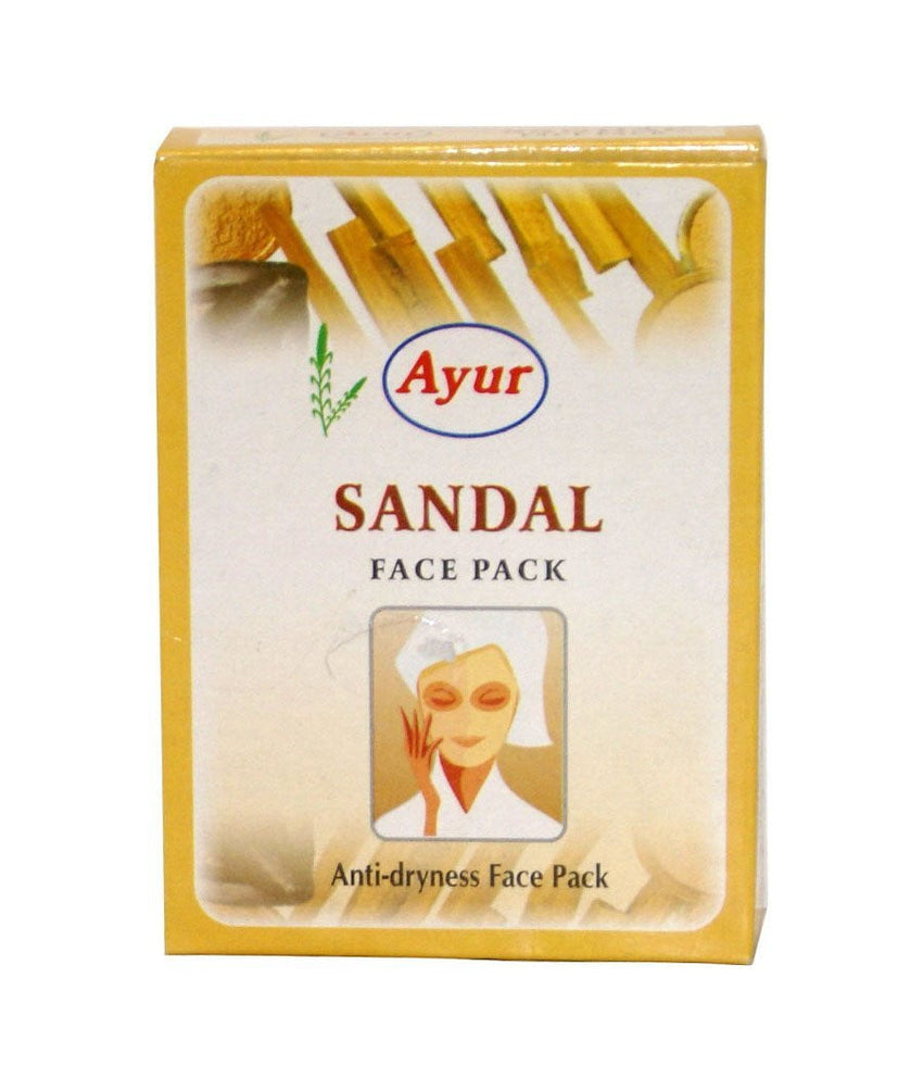 Ayur Sandal Face Pack 100 gm - Daily Fresh Grocery