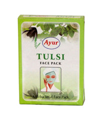 Ayur Tulsi Face Pack 100 gm - Daily Fresh Grocery