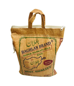 BAGHLAN BRAND - Super Basmati Sela Rice - 10Lbs - Daily Fresh Grocery