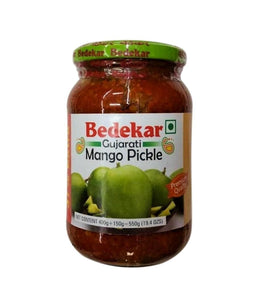 Bedekar Gujarati Mango Pickle - 550 Gm - Daily Fresh Grocery