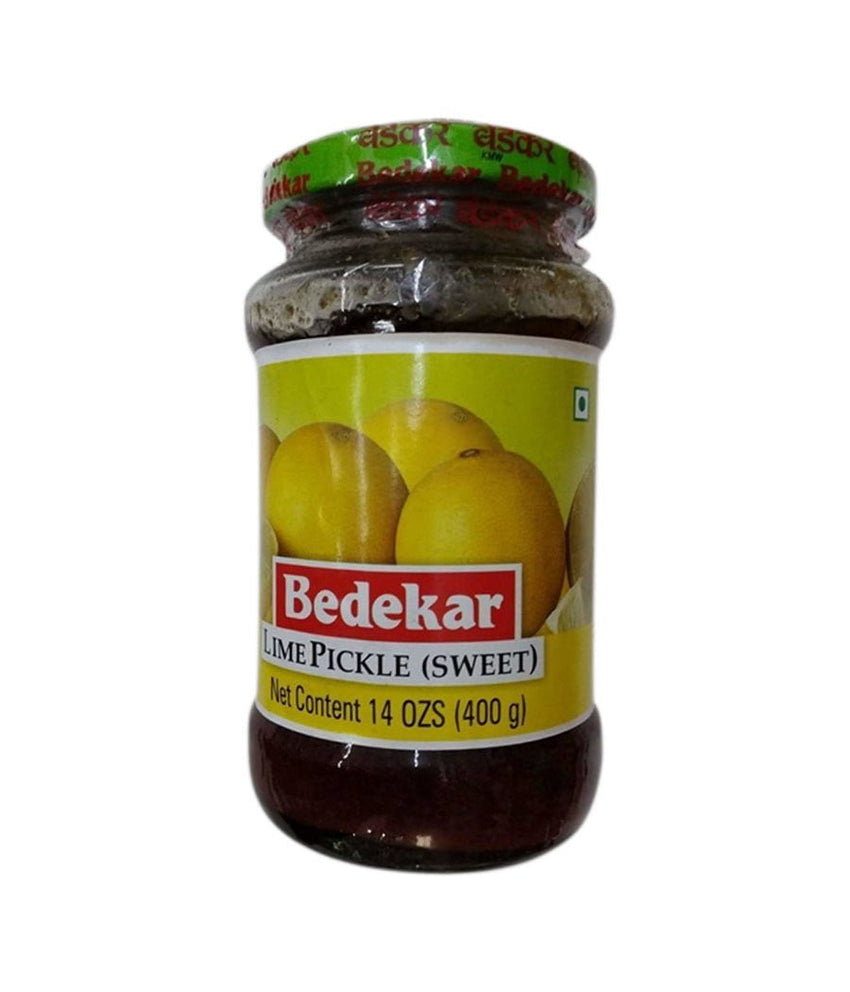 Bedekar Lime Pickle (Sweet) - 400 Gm - Daily Fresh Grocery
