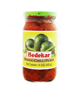 Bedekar Mango Chilli Pickle 400 gm - Daily Fresh Grocery