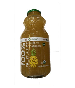 Ben Organic Pineapple Fruit Juice - 946ml - Daily Fresh Grocery