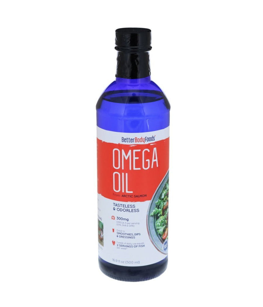 BetterBodyFoods OMEGA OIL from Arctic Salmon - 500 ml - Daily Fresh Grocery