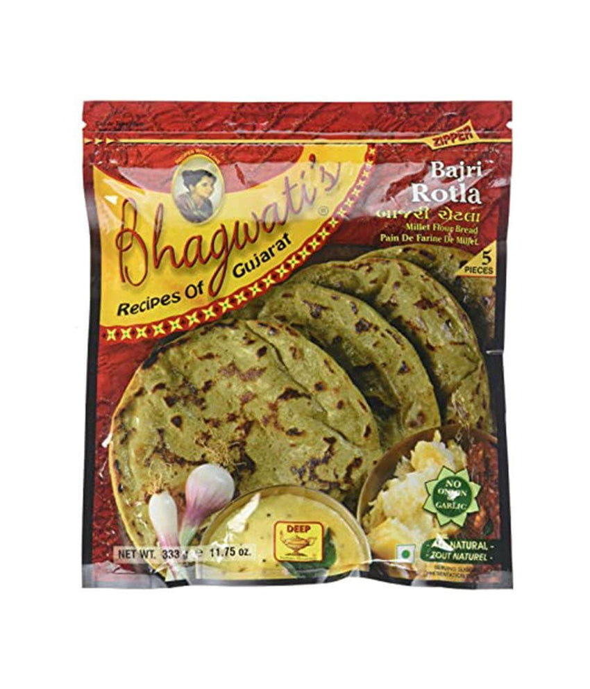 Bhagwatis Bajra Rotla - 333 Gm - Daily Fresh Grocery