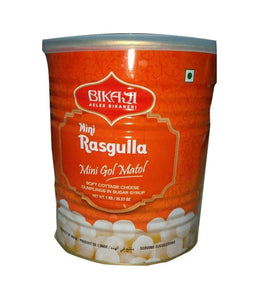 Bikaji Mini Rasgulla 1Kg - Daily Fresh Grocery