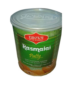 Bikaji Rasmalai Patty - 1Kg - Daily Fresh Grocery