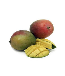 Boxed Kent (Dark Red-Green) Mangoes About 9 Count - Daily Fresh Grocery