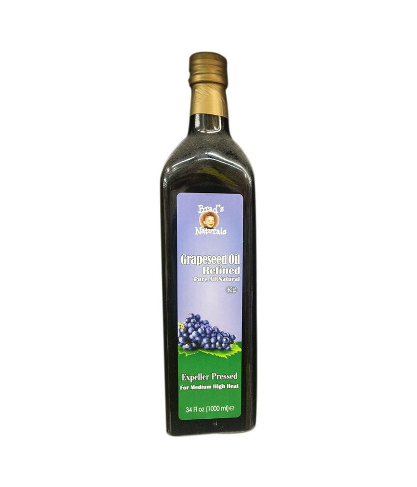 Brads Naturals Grapessed Oil Refined / 34.fl. oz (1000 ml) - Daily Fresh Grocery