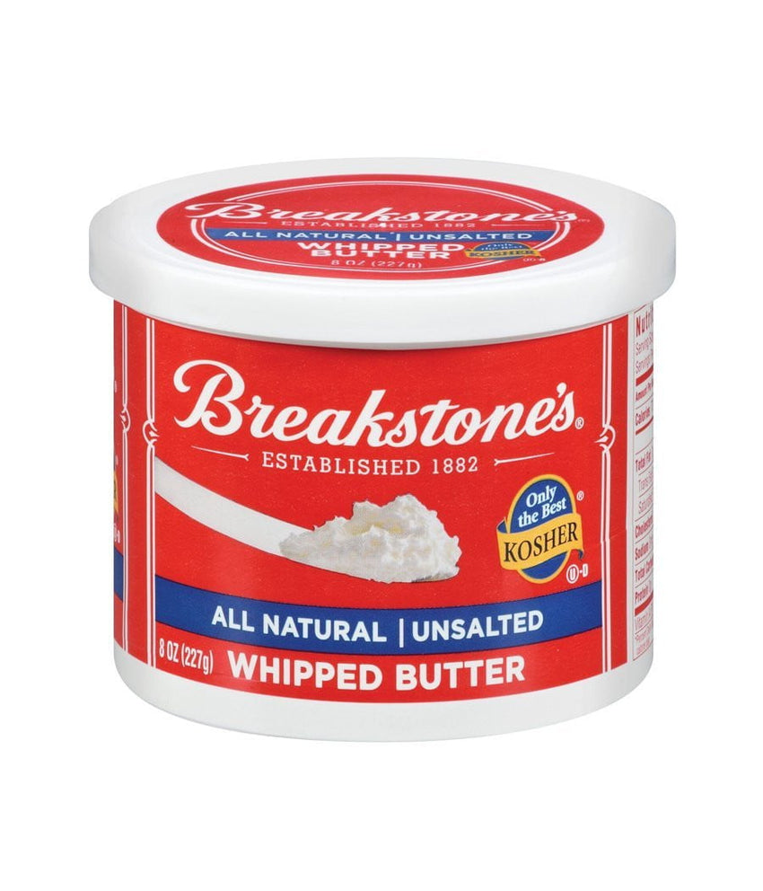Breakstone's All Natural Unsalted Whipped Butter - 227 Gm - Daily Fresh Grocery