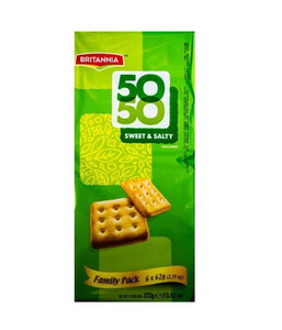Britannia 50-50 Sweet and Salty (13. 12 0Z) - Daily Fresh Grocery