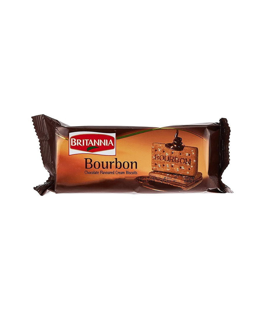 Britannia Bourbon Chocolate Cream Biscuits - Daily Fresh Grocery