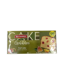 Britannia Cake Gobbles Fruit Cake - 275 Gm - Daily Fresh Grocery