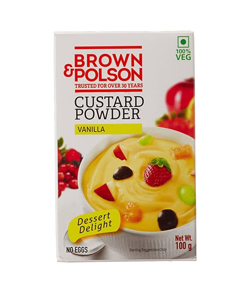 Brown & Polson Custard Powder – Vanilla 100 gm - Daily Fresh Grocery
