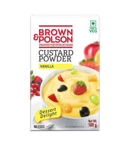brown & Polson Custard Powder Vanilla - 500gm - Daily Fresh Grocery