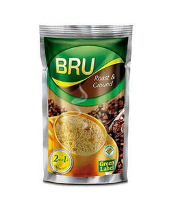 Bru Roast & Ground Green Label Coffee 7 oz / 200 gram - Daily Fresh Grocery
