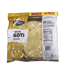 Crispy Gujarati Roti - 585 Gm - Daily Fresh Grocery